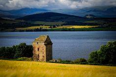 Castle Craig. Munlochy. Black Isle. Highlands of Scotland.