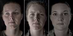 We Are The Not Dead: Portraits of Soldiers Before, During, and After War by Lalage Snow