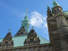 Hamburg Rathaus Innenhof