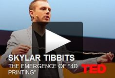 Skylar Tibbits on 4D printing. I'm leaving you 3D… it's not you it's me, there's something missing… a whole dimension!
