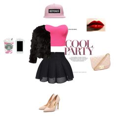 """cool party"" by lore98-1 ❤ liked on Polyvore featuring Rupert Sanderson, Forever 21, Alice + Olivia, trending, fashionWeek and fashionset"