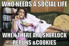 reruns and cookies trumps college parties <-- agreed @souzoo. that's exactly what we looked like senior year