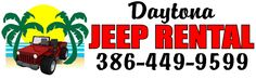 Daytona Jeep Rental SAVE 25% OFF THE RENTAL RATE! Valid only in July 2015. Not valid with any other offer. Expires 9/18/2015. If using online form from link below, be sure to mention VolusiaCoupons.com to claim your discount.