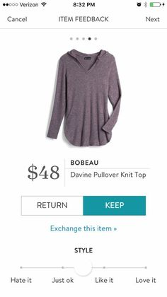 Bobeau Davide Pullover Knit Top. I love Stitch Fix! A personalized styling service and it's amazing!! Simply fill out a style profile with sizing and preferences. Then your very own stylist selects 5 pieces to send to you to try out at home. Keep what you love and return what you don't. Only a $20 fee which is also applied to anything you keep. Plus, if you keep all 5 pieces you get 25% off! Free shipping both ways. Schedule your first fix using the link below! #stitchfix @stitchfix…