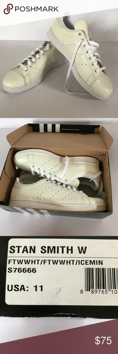 best sneakers 1f004 51523 NWT Men s Stan Smith Shoes Brand  Adidas -Very popular -Cool texture  -Originally  90! -FAST SHIPPING adidas Shoes Sneakers