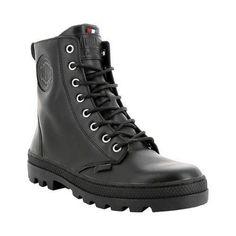 Women's Palladium Pallabosse OFF Leather Boot Leather