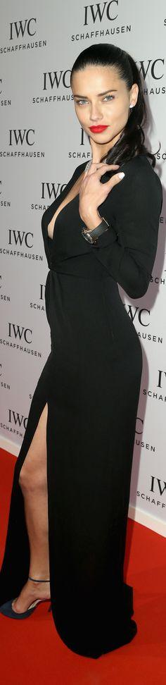 Adriana Lima in Jenni Kayne at the Inside the Wave Gala.
