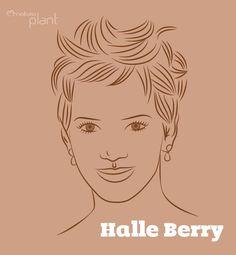 Uma opção de curto super moderno. Halle já teve cabelos longos, lisos, muito cacheados, curtos e tantos outros. Ela realmente não tem medo de mudar! Gosta dessa opção? #dicas #cabelos #halleberry #curtos #penteado