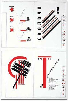 Book of poems for Mayakovsky / Constructivism