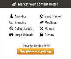 SlideShare--Create online presentations for asynchronous instruction.