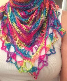 Crochet Scarves, Plaid Scarf, Crochet Projects, Shawl, Crochet Necklace, Valley Ranch, Neon, Style Inspiration, Princess