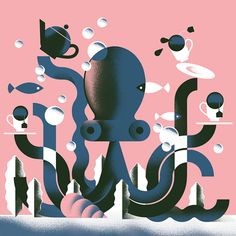 Octopus' Garden on Behance