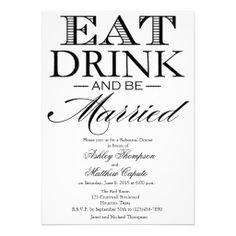 >>>best recommended          Eat, Drink & Be Married Rehearsal Dinner Invite           Eat, Drink & Be Married Rehearsal Dinner Invite We provide you all shopping site and all informations in our go to store link. You will see low prices onDiscount Deals          Eat, Drink & Be...Cleck link More >>> http://www.zazzle.com/eat_drink_be_married_rehearsal_dinner_invite-161246837939280727?rf=238627982471231924&zbar=1&tc=terrest