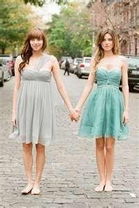 cute bridesmaid dress alyshad