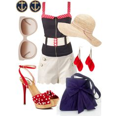 """""""Summer in the city"""" by reka-azsoth on Polyvore"""