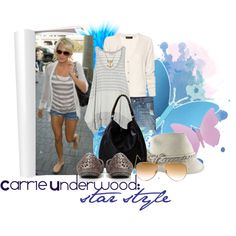 """""""Carrie underwood: star style"""" by haylie24 on Polyvore"""