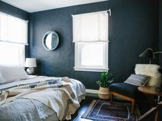 Perfect Best Wall Paint Colors For Bedroom And Description - 6 Best Paint Colors To Get You Those Moody Vibes. Decor, Bedroom Paint Colors, Home, Best Bedroom Colors, Best Paint Colors, Best Wall Paint, Trending Decor, Bedroom Color Schemes, Bedroom Wall Colors
