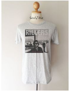 f1fa830aa The Killers Band Rock Indie Punk Tees T Shirt by Grizzlytshirt, $15.99