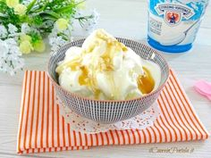 Love And Gelato, Latte, Frozen Yogurt, Camembert Cheese, Cooking Recipes, Ice Cream, Healthy, Ethnic Recipes, Sweet