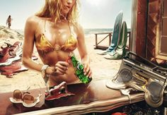 Perrier Ad Campaign. #summer