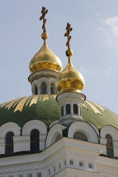 Kiev : cathédrale Sainte-Sophie et ensemble des bâtiments monastiques et laure de Kievo-Petchersk