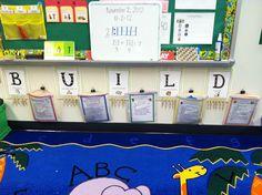B.U.I.L.D. Math!  Learning Adventures with Mrs. Gerlach