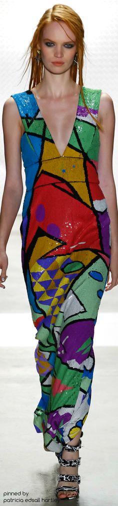 SPRING 2016 READY-TO-WEAR Nicole Miller Boho Fashion