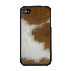 cow hide iphone skins