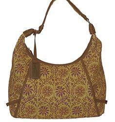 Tignanello Sunrise Floral Hobo Handbag