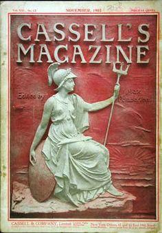 Nov 1903 Cassell's Family magazine vintage cover