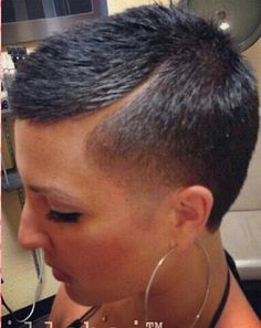 Maybe without the shaved in part... love that transition, though #hair