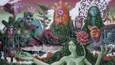 Sam Woolfe: Psychedelic Artist: Tokio Aoyama (Japan)