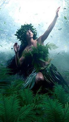 Interpretation of The Hawaiian Goddess Of Hula, Laka. Hawaiian Girls, Hawaiian Dancers, Hawaiian Tribal, Hawaiian Tattoo, Hawaiian Mythology, Hawaiian Goddess, Polynesian Dance, Hawaii Pictures, Dance Paintings