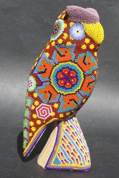 MEXICAN HUICHOL OWL