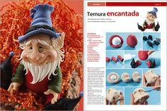 Ternura encantada - Modelar en PORCELANA FRIA Nº 05 - 2012