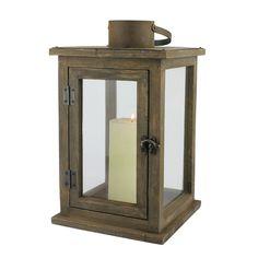 CKK Home Décor, LP Rustic Retreat Wood Lantern & Reviews   Wayfair