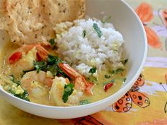 A #recipe for Sunday supper: Fiery Indian Shrimp Curry