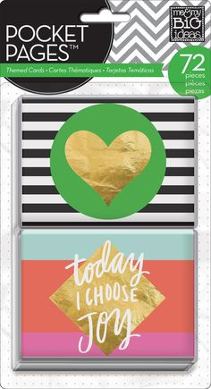 Big City Brights POCKET PAGES™ cards | me & my BIG ideas