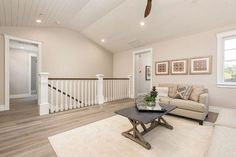 Ideas for my Loft or Family Room. Pin now and see Later! Newly Built Hamptons Style Home