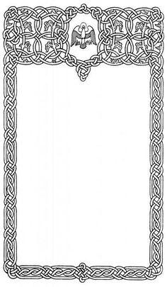 Celtic Knots, Celtic Symbols, Celtic Art, Celtic Border, Celtic Knot Designs, Islamic Patterns, Celtic Dragon, Wood Burning Patterns, Wood Engraving
