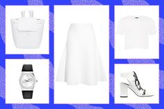 4 Unexpected Ways To Wear All White  #refinery29  http://www.refinery29.com/how-to-wear-all-white-outfits