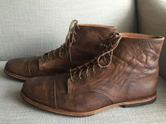 Timberland Boot Company Wodehouse Boots Sz 12 Men's Lost History 4034R Brown #Timberland #AnkleBoots