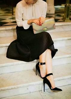 Very chic and classy...