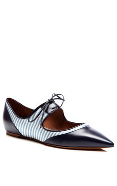 TABITHA SIMMONS Bibi Lace-Up Pointed Flats