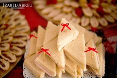 Triangle Sandwiches from a Little Red Riding Hood Birthday Party via Kara's Party Ideas! KarasPartyIdeas.com (9)