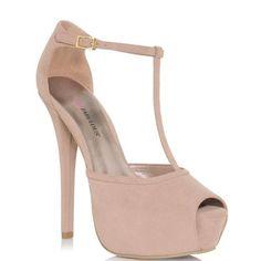 Amazon.com: JustFab Sanaya - Blush: JustFab: Shoes