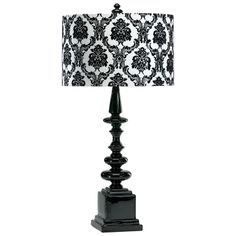 Black and white damask lamp things that remind me of my best black and white damask lamp things that remind me of my best friend amber pinterest white damask damasks and bedhead aloadofball Image collections