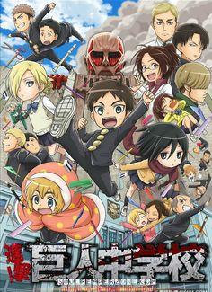 Shingeki! Kyojin Chuugakkou | Episodes 480p 60MB | 720p 90MB MKV…