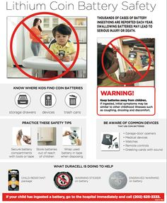 Lithium Coin Battery Safety