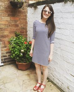The ultimate in comfort: a lark tee altered into a dress in soft loopback jersey, perfect for a chilled out Sunday meg_celineguthrieghani,sewcialists,larktee,grainlinestudio,dressmaking,grainline,grainlinelark,sewing,isew,medmade